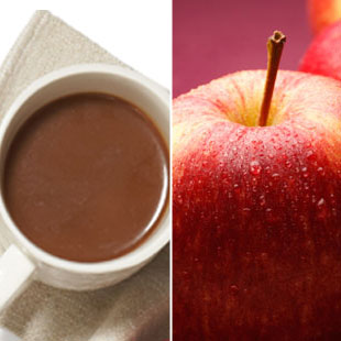 10 a.m. Grab a small nonfat latte and an apple.