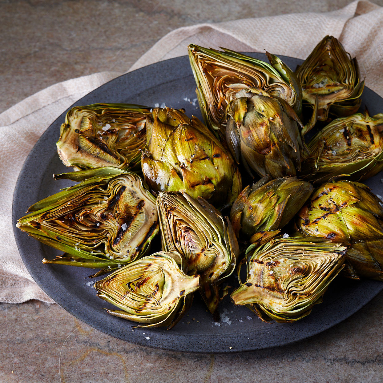 Artichokes-grilled