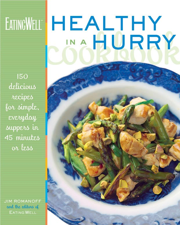 eatingwell healthy in a hurry cookbook
