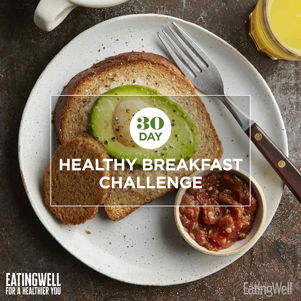 30 day healthy breakfast challenge