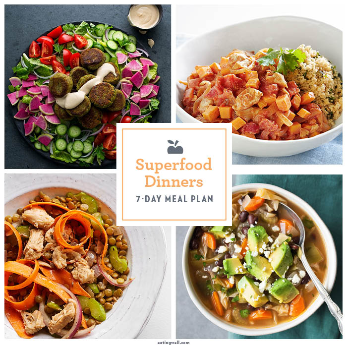 7-Day Superfood Meal Plan
