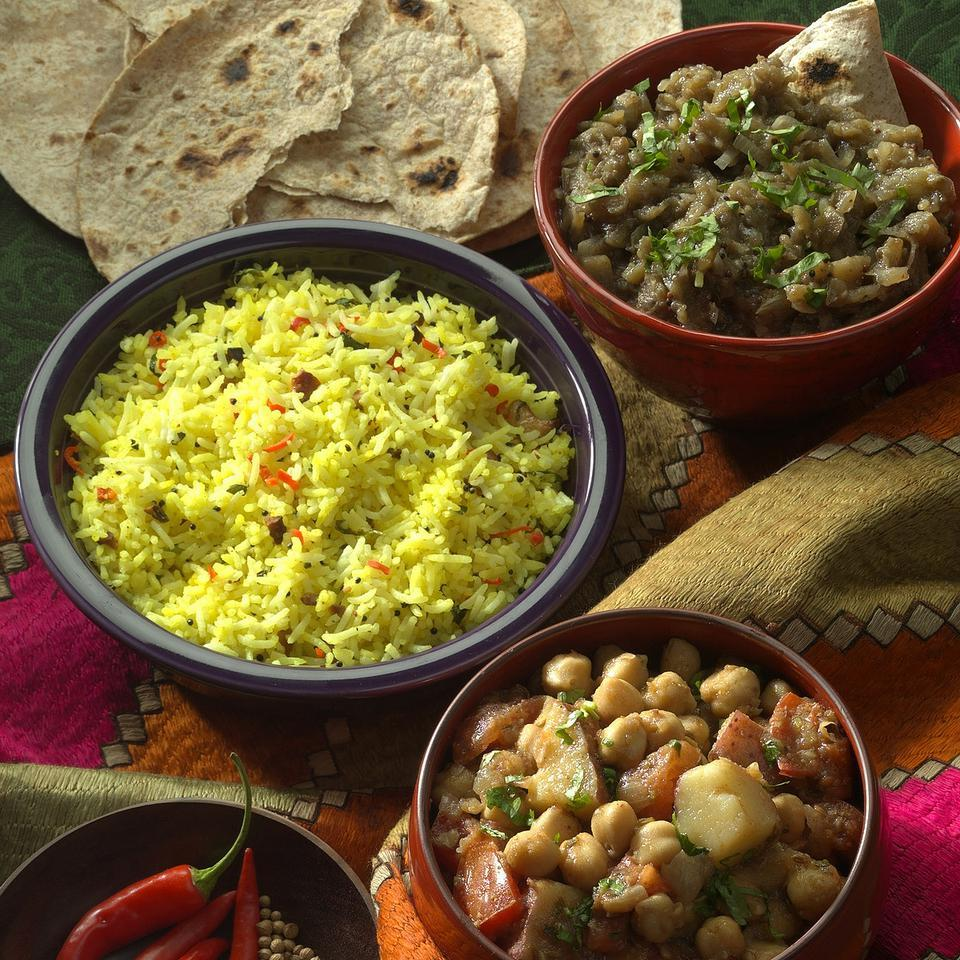 Rice Pilaf with Lime & Cashews