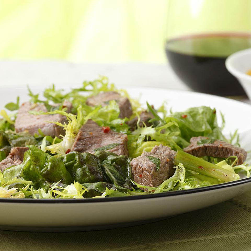 Soy-Lime Beef Salad with Mint