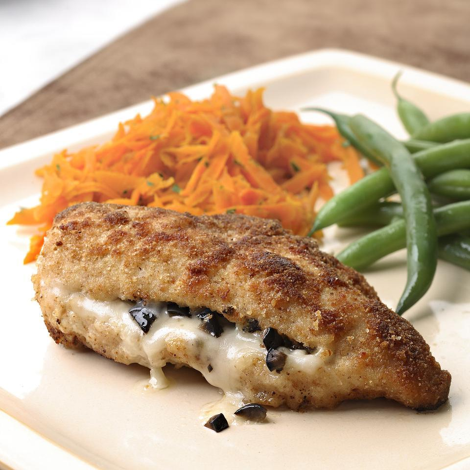 Provolone & Olive Stuffed Chicken Breasts