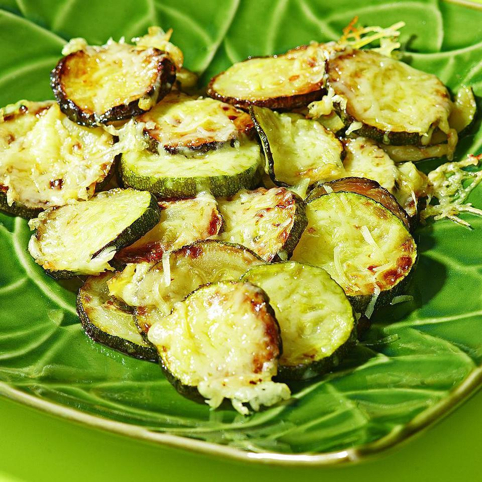 Mary's Zucchini with Parmesan for Two