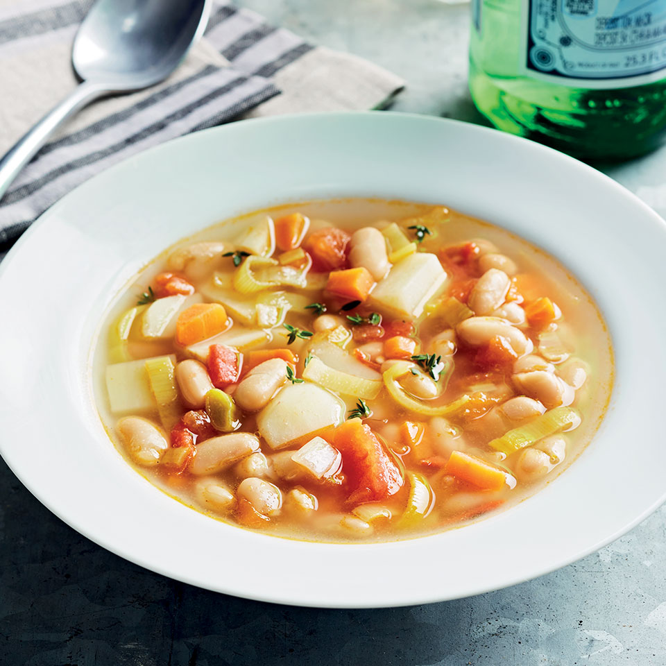 Chicken Soup with Provençal Herbs