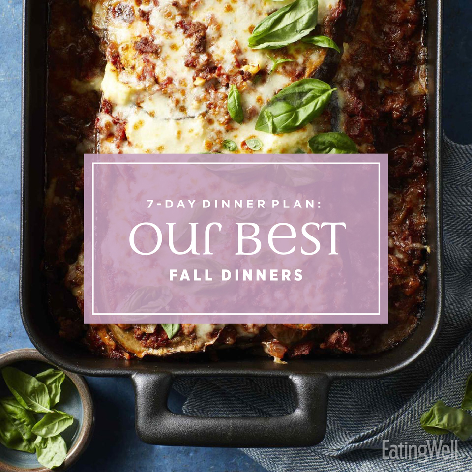 eatingwell magazine our best fall dinners