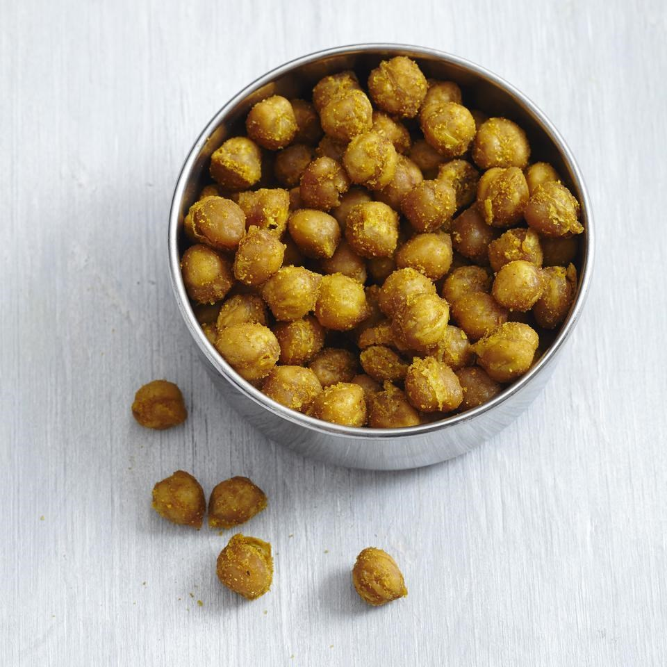 Crispy Curried Chickpeas