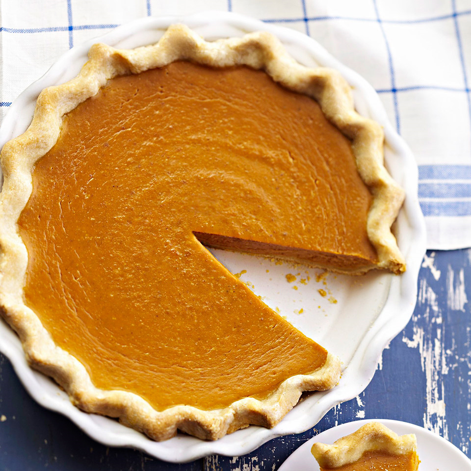 Our Best Traditional Pumpkin Pie