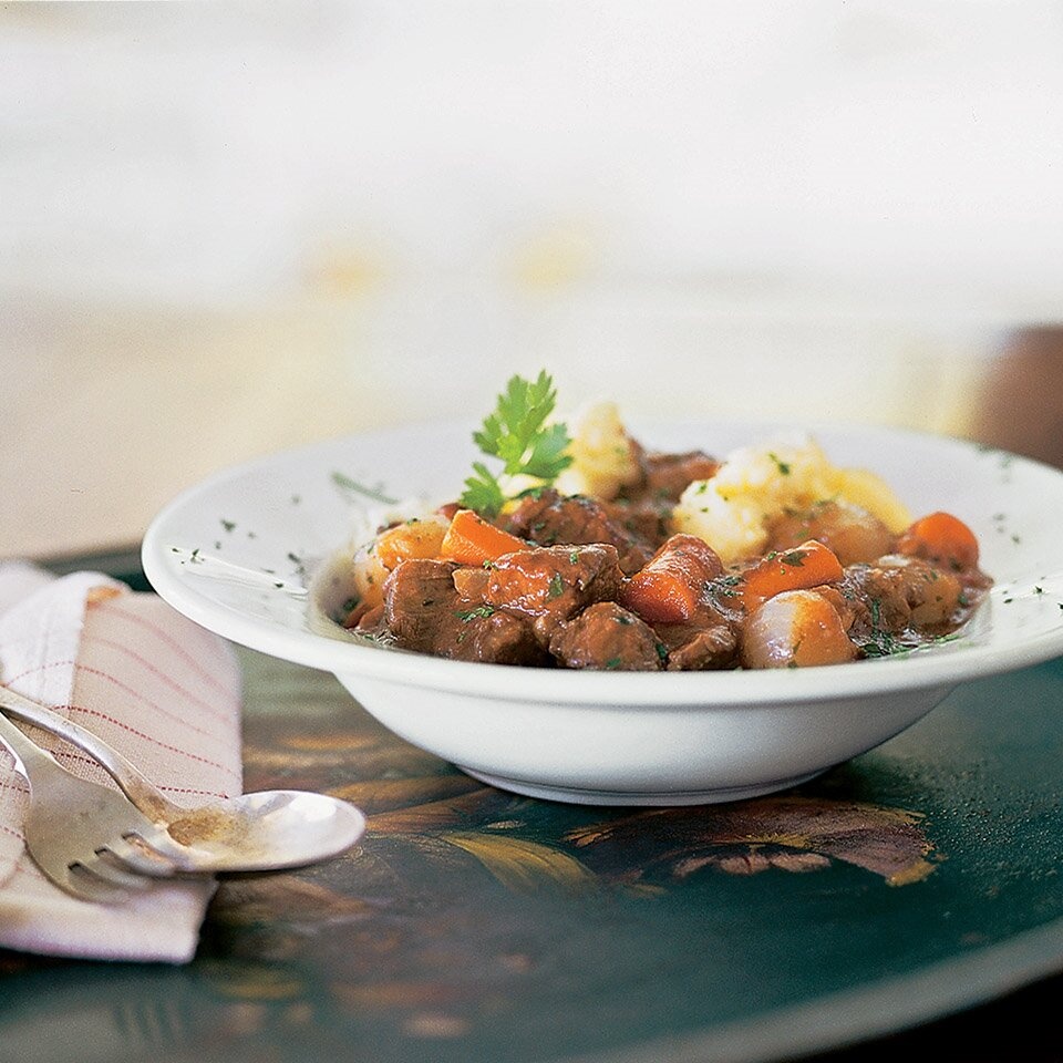 Polenta Beef Stew Recipe Eatingwell