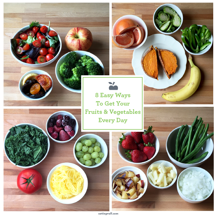 What Does a Day of Fruits and Vegetables Look Like?