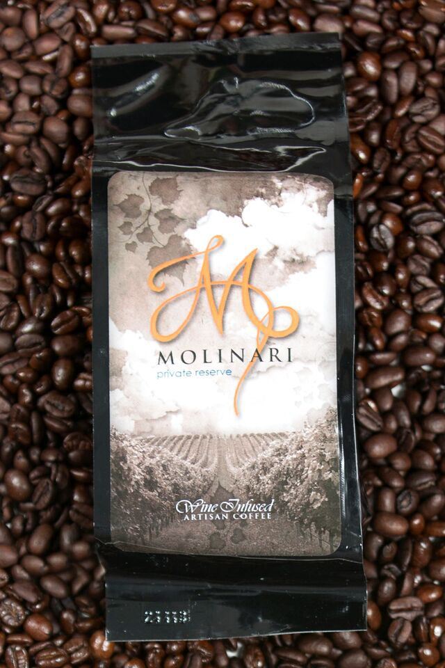 Molinari Wine-Infused Coffee