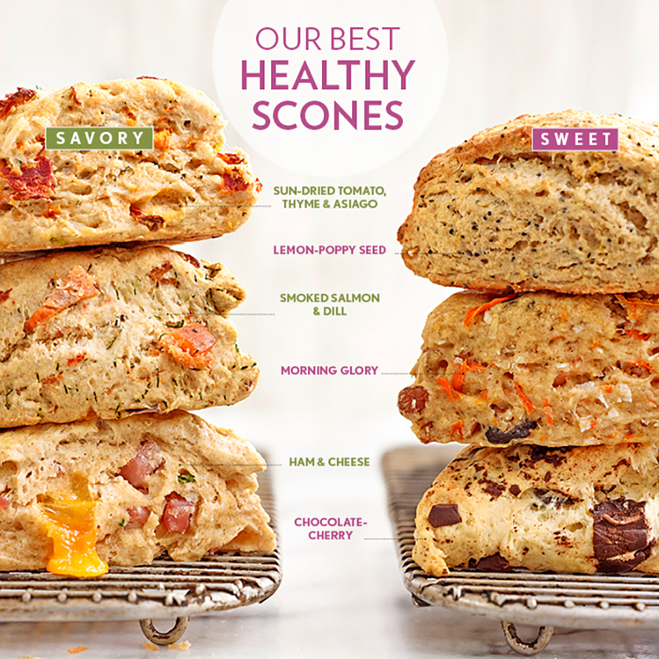 EatingWell's Best Healthy Scone Recipes for Weekend Baking