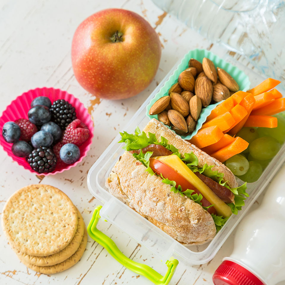 How to Make a Pack-Your-Own Lunch Station for Kids
