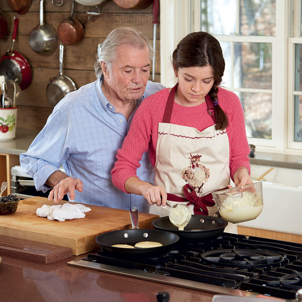 Jacques Pépin's Simple Advice for Parents: Teach Your Kids to Cook