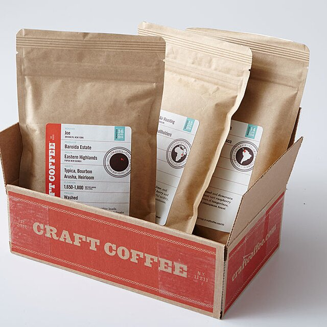 Coffee in bags