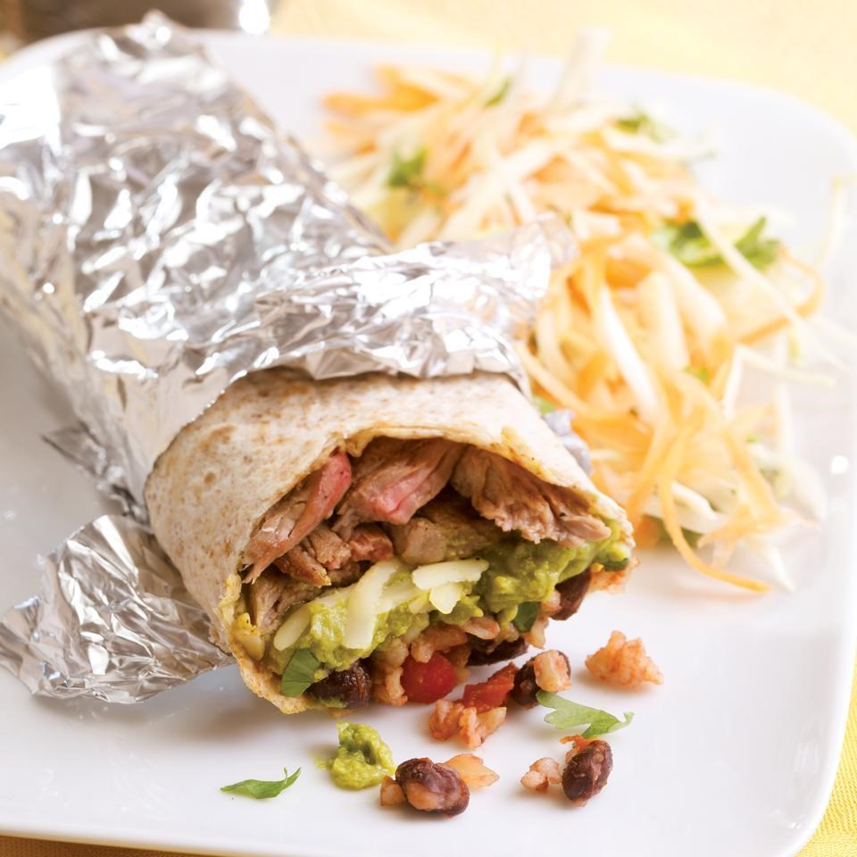 Make & Take Steak Burritos