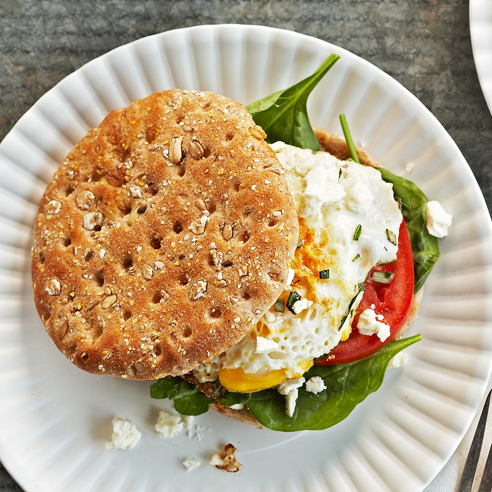 Mediterranean Breakfast Sandwiches