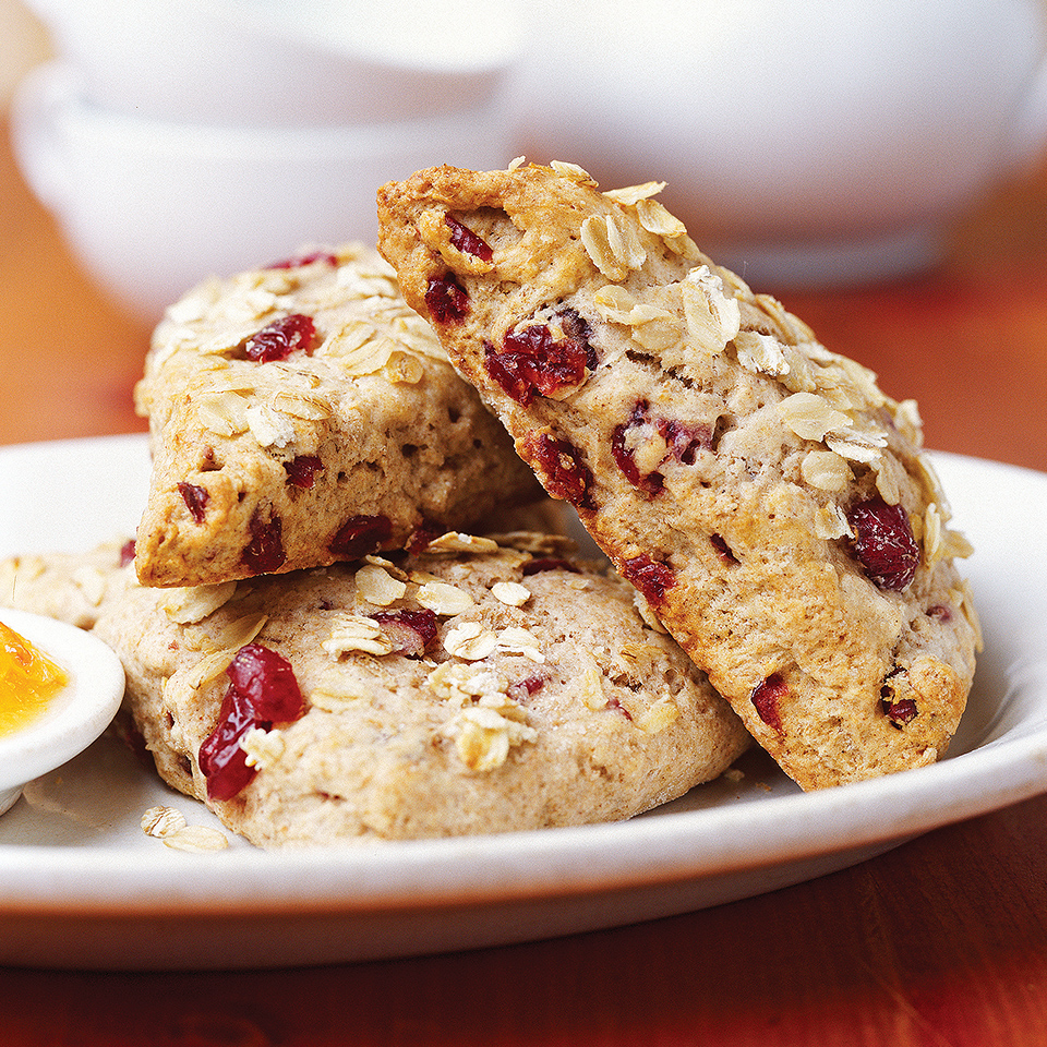 Cranberry Whole Wheat Scones