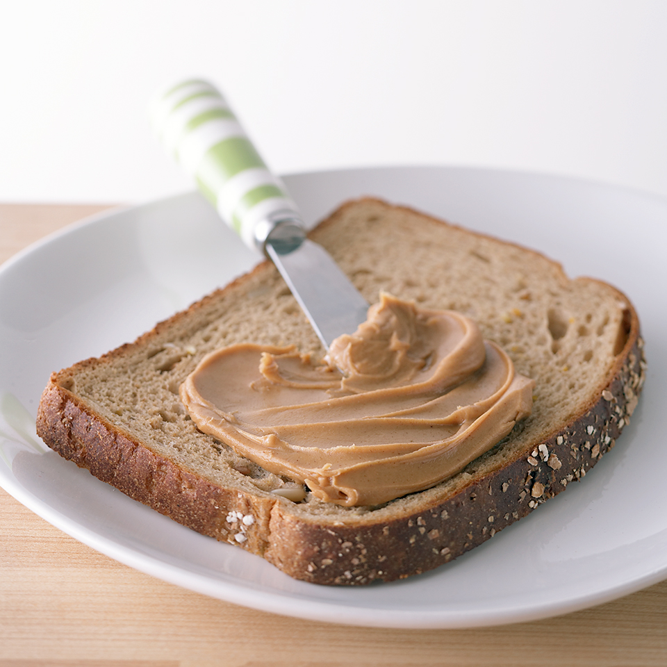 Bread with Peanut Butter