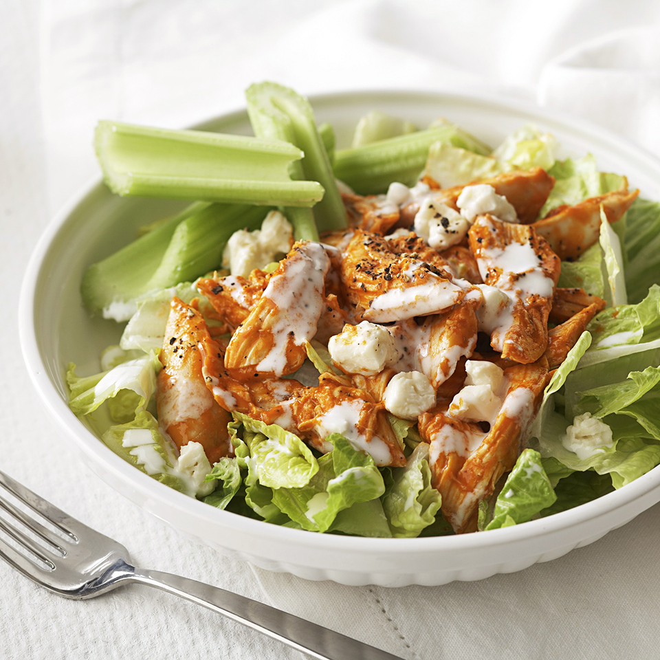 Hot Wing Salad