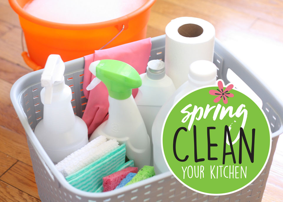 Your Kitchen Spring-Cleaning Checklist