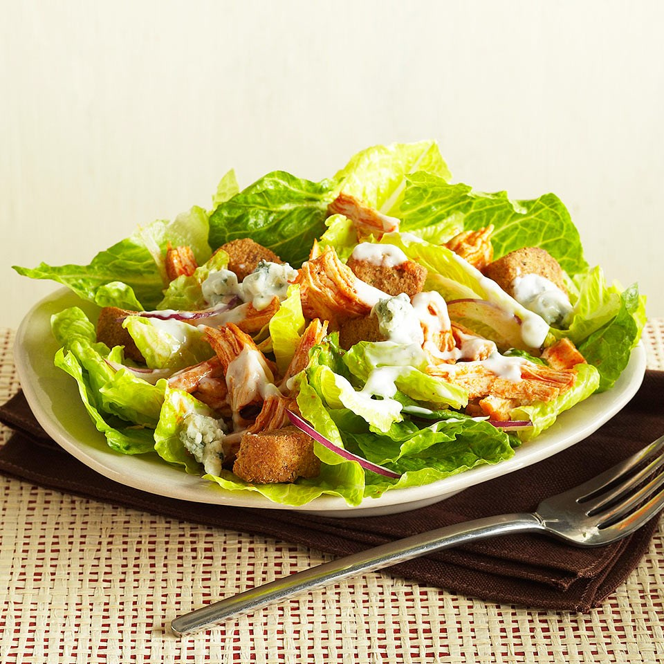 How to Make Slow Cooker Buffalo Chicken Salad