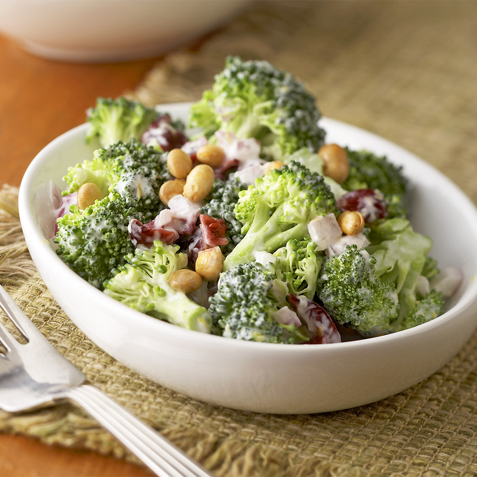 Gingered Lemon Broccoli Salad