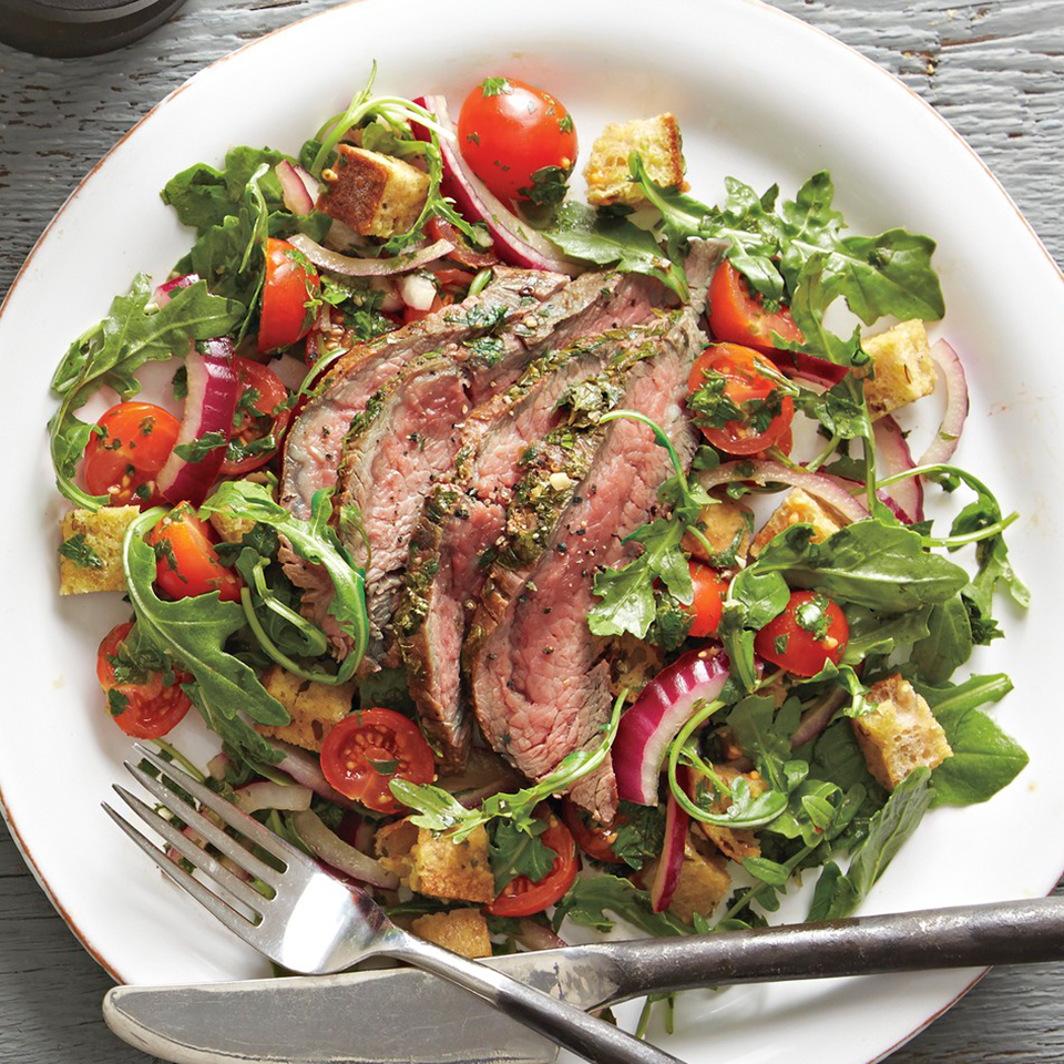 Steak and Chimichurri Salad