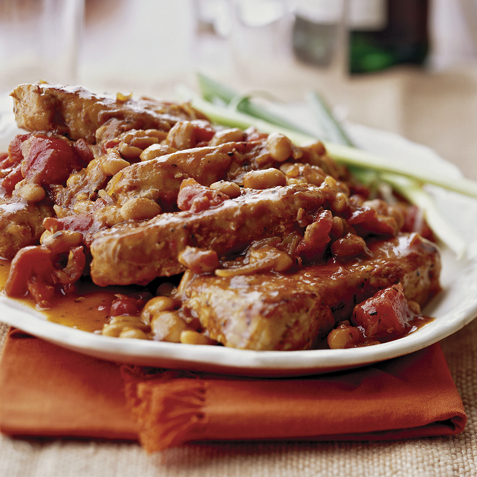 Pork Ribs and Beans