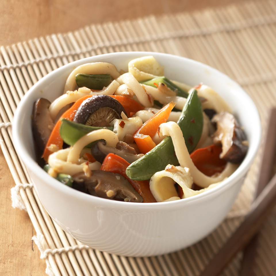 Asian Vegetable Lo Mein