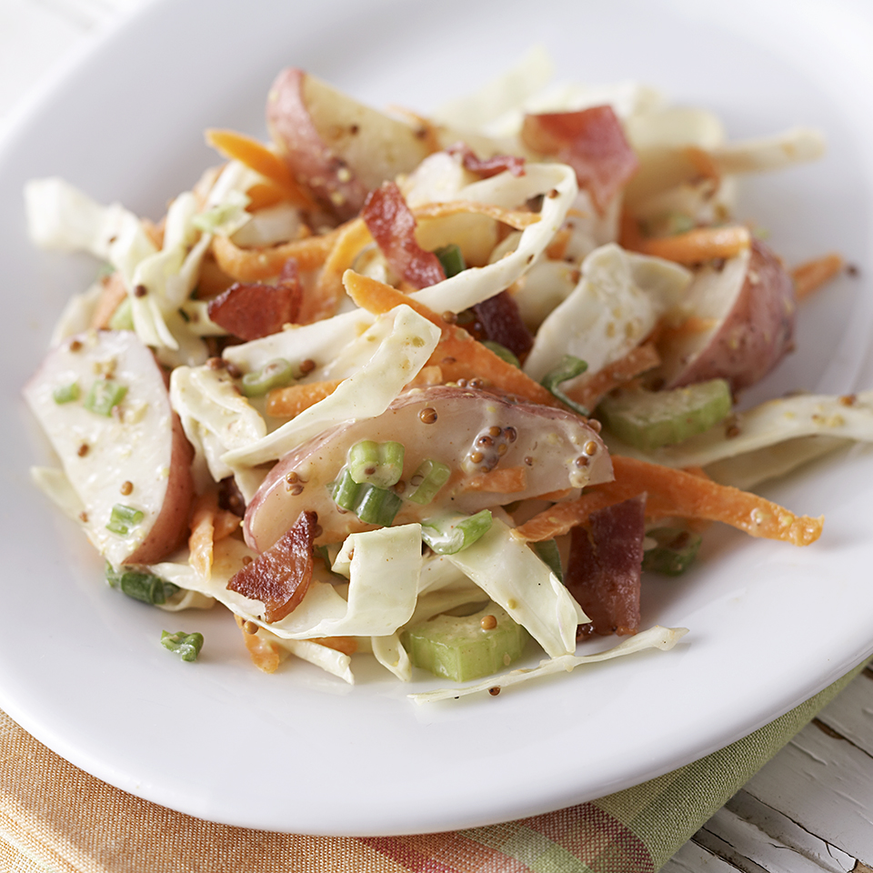 New Potato-Cabbage Salad