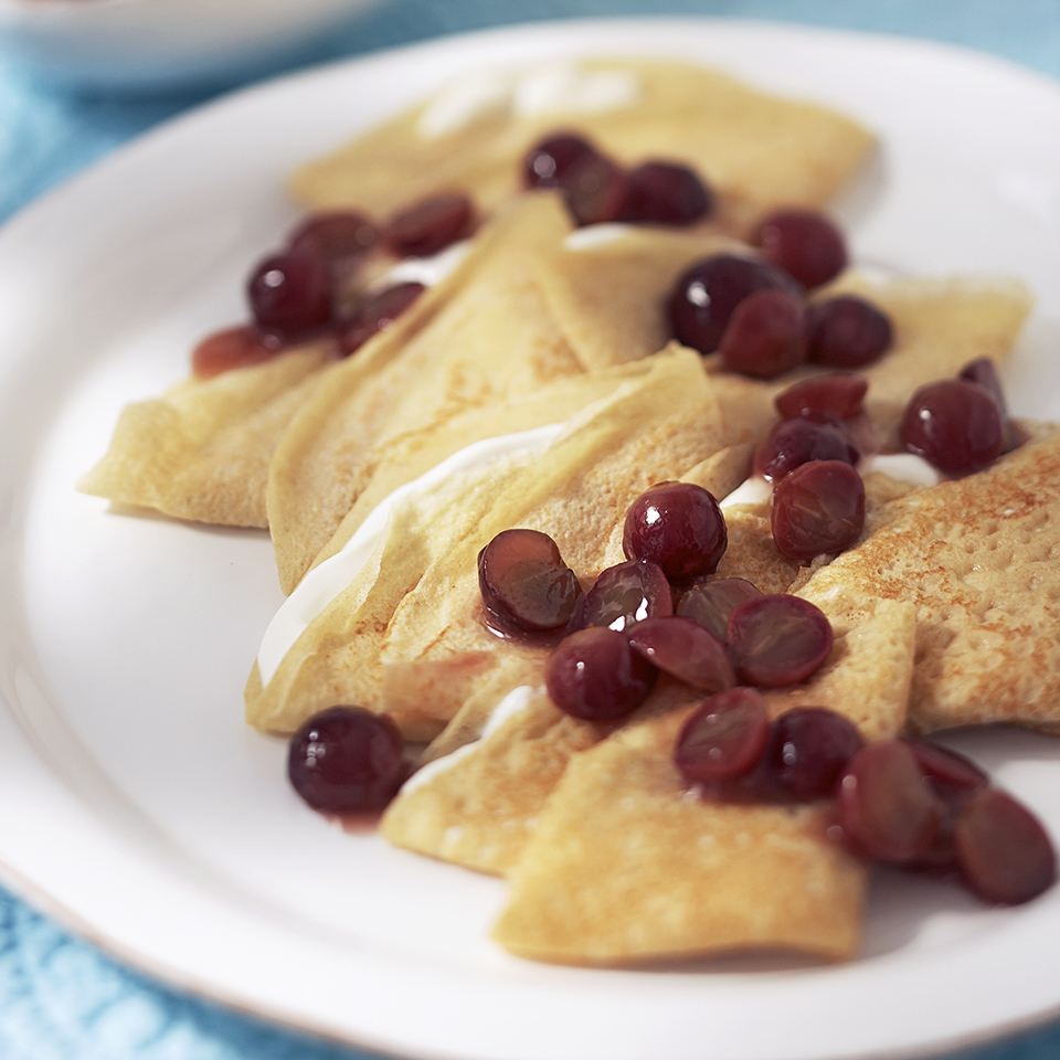 Grape Crepes