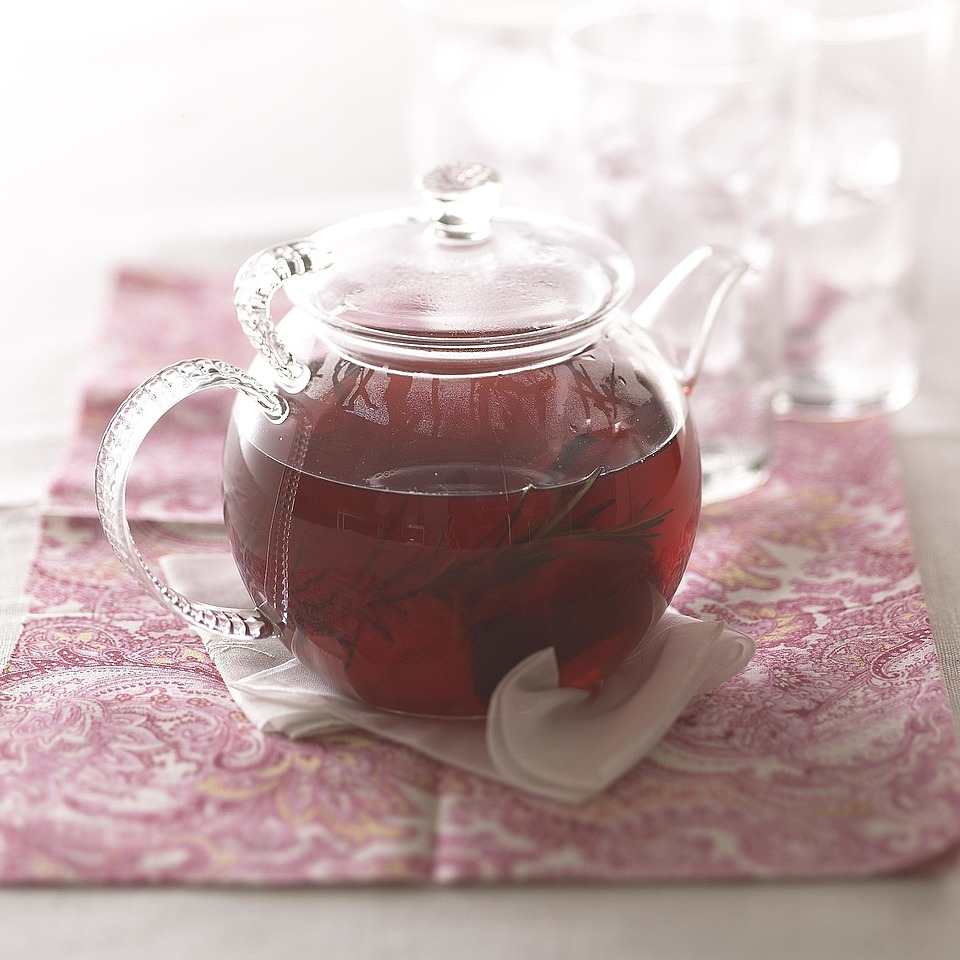 Ruby Red Winter Iced Tea