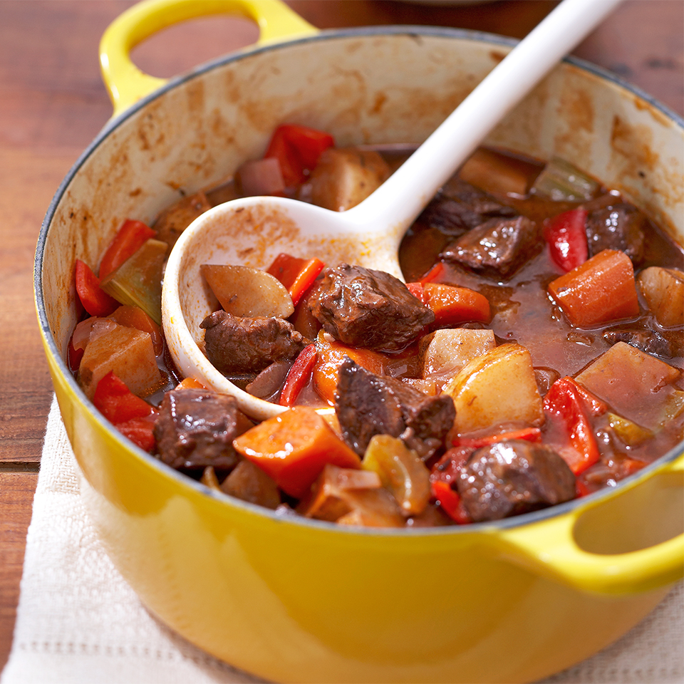 Three-Pepper Beef Stew