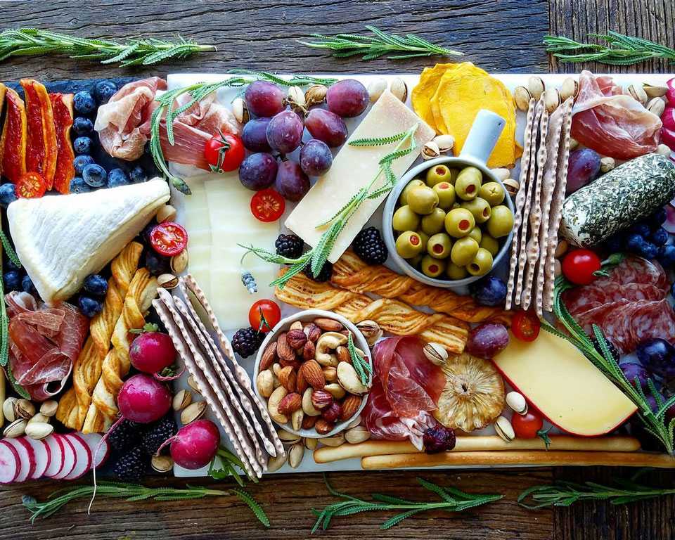Amazing Party Appetizer Boards for Graduation Parties