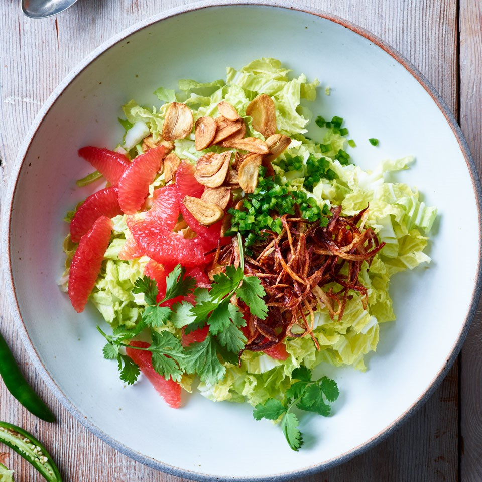 Citrus & Napa Cabbage Salad