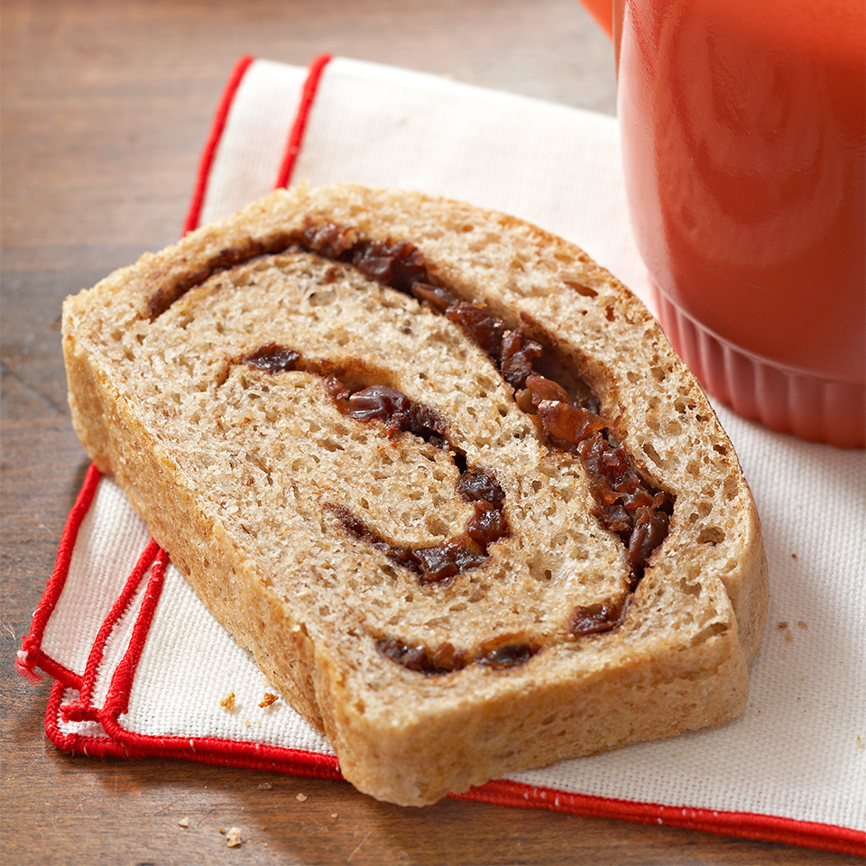 Oatmeal-Raisin Swirl Bread
