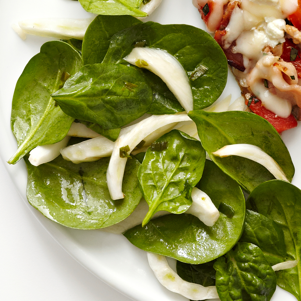 Spinach Fennel Salad