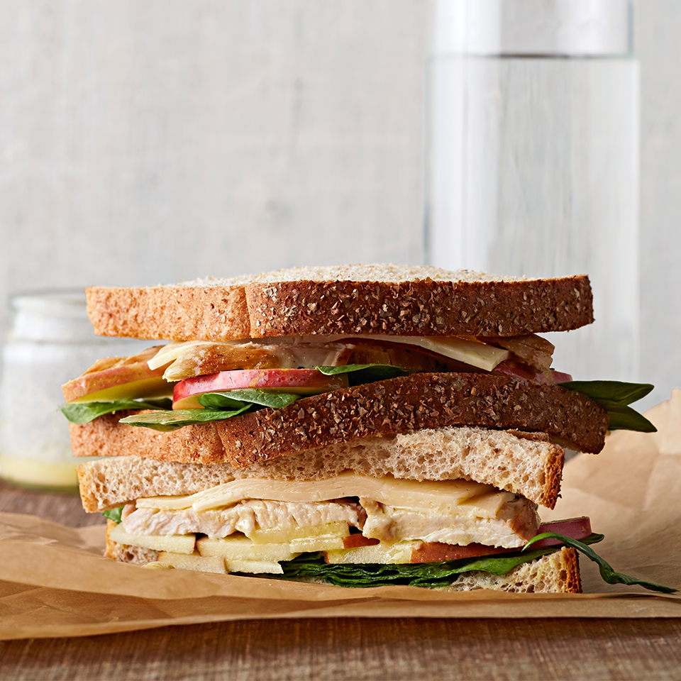 Turkey, Apple and Havarti Sandwich