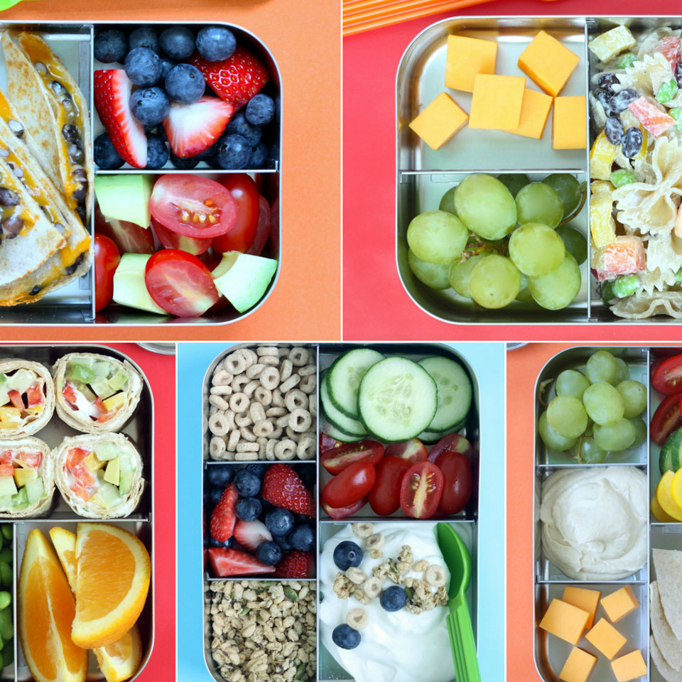 How to Plan & Shop for a Week's Worth of Healthy Kids' Lunches