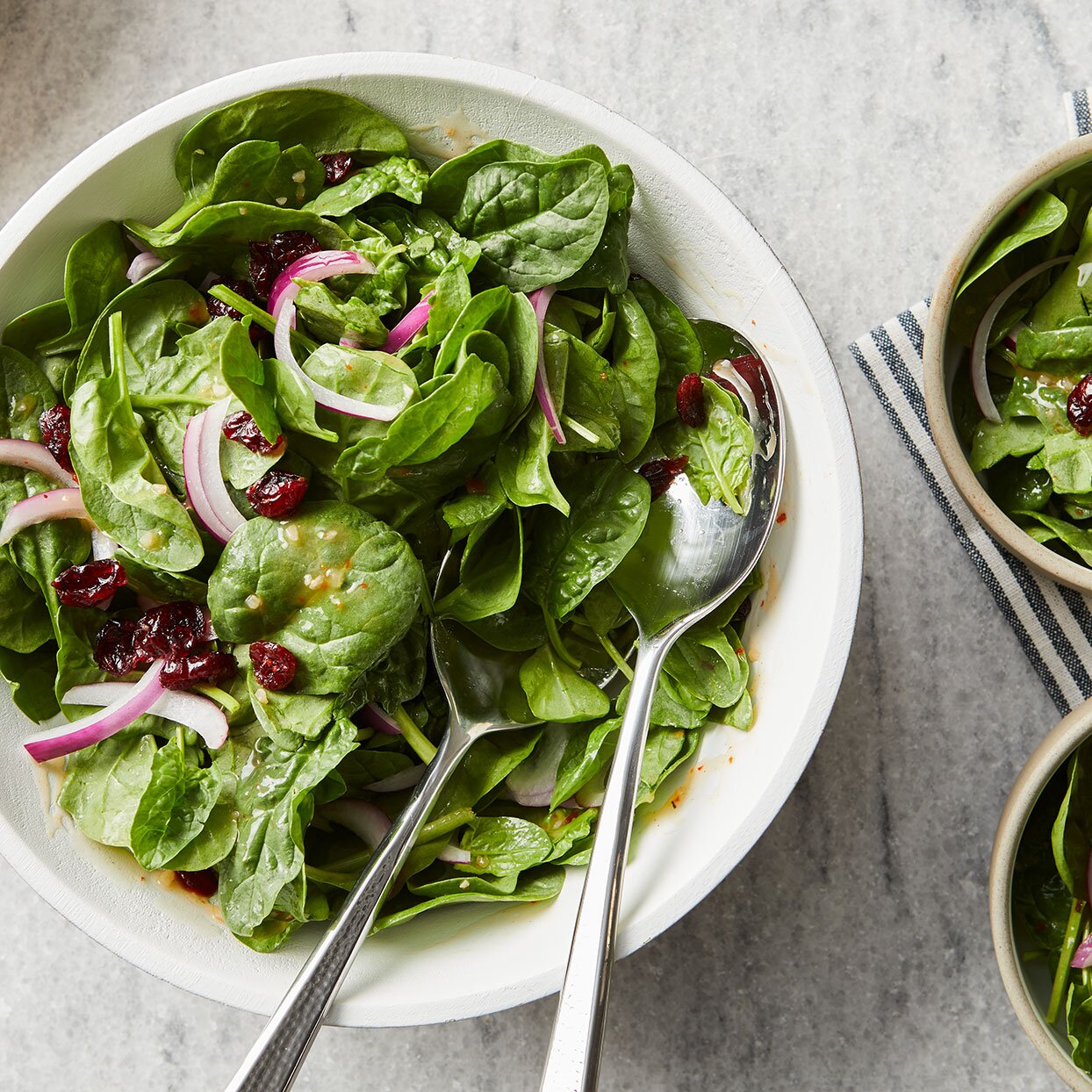 Spinach Salad Recipe Eatingwell