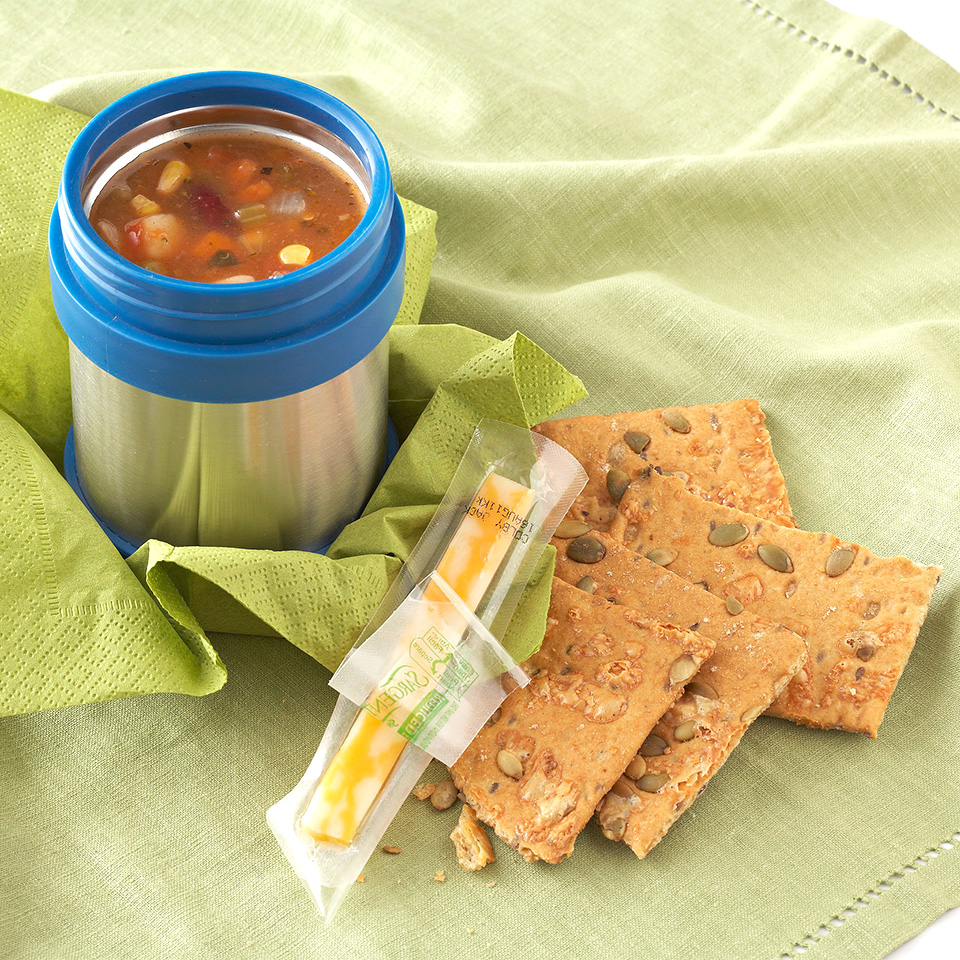 Easy Vegetable Soup with Cheese