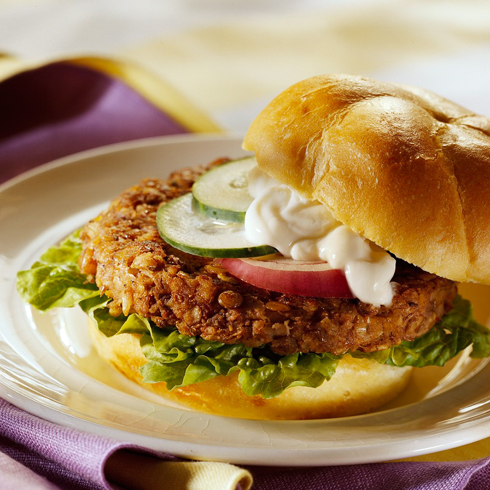 Veggie-Filled Burgers