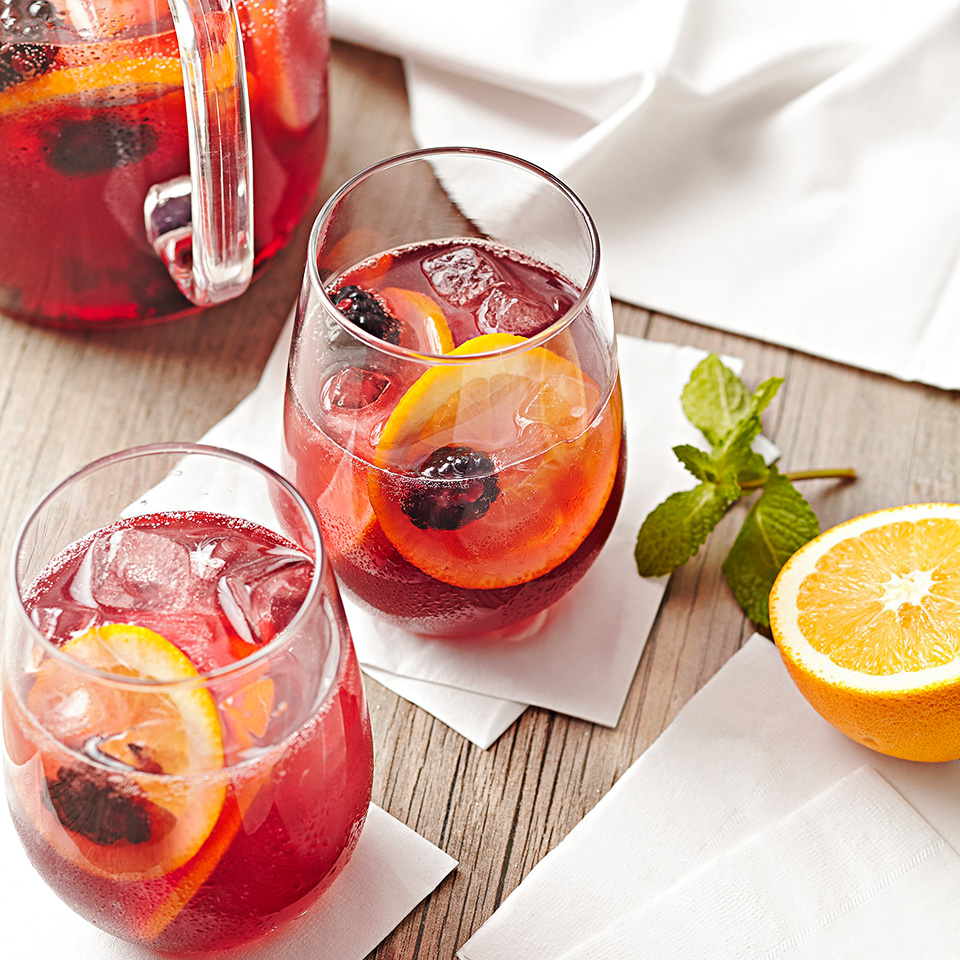 Blackberry Tea Sangria