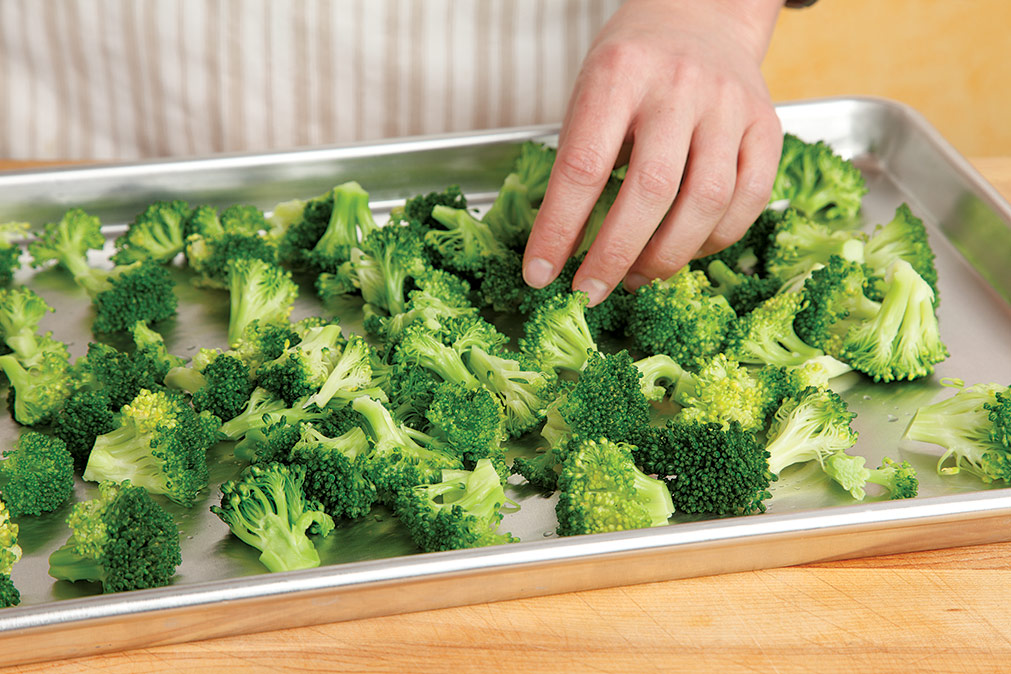 how to freeze vegetables step 3