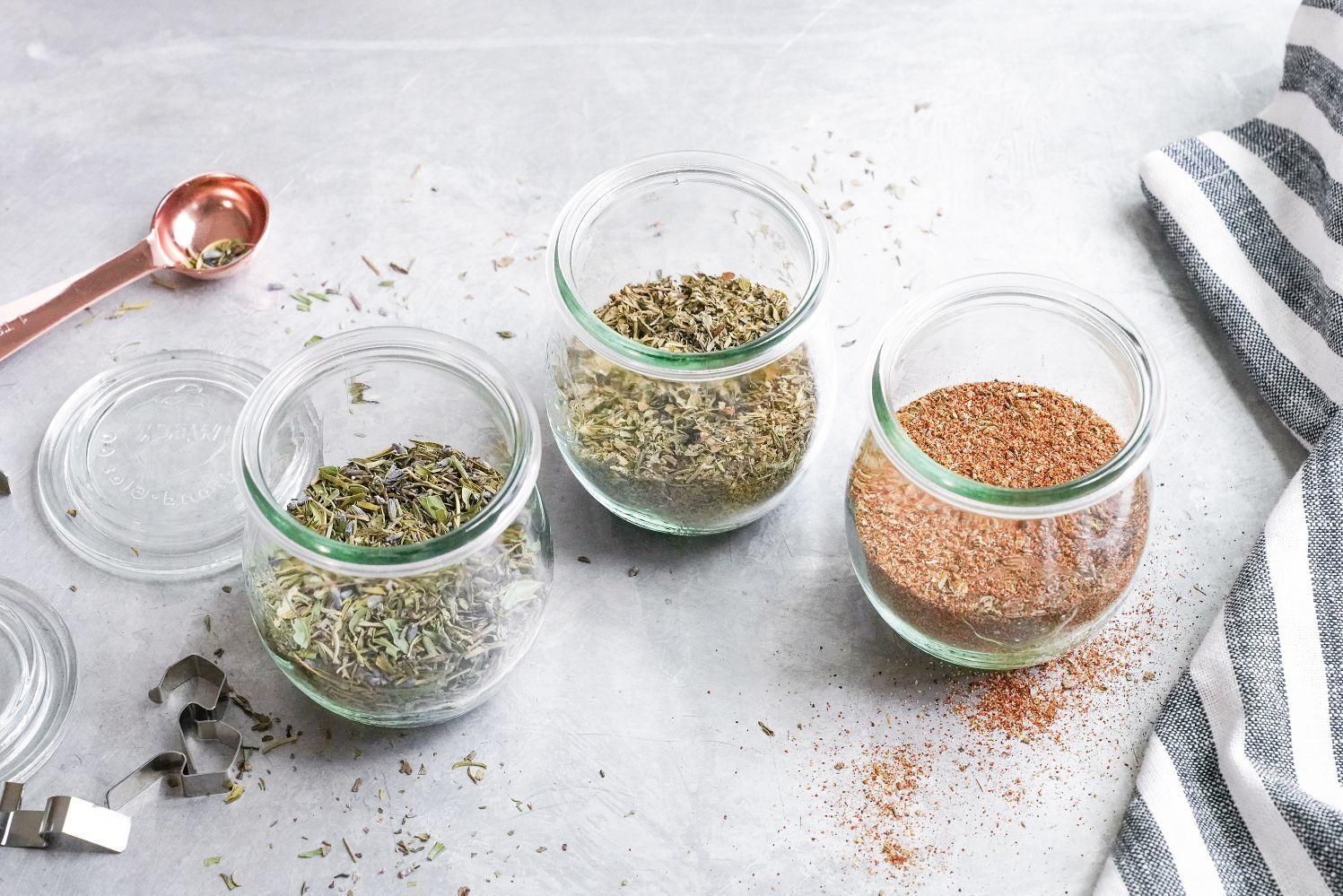 homemade seasonings and herb mixes