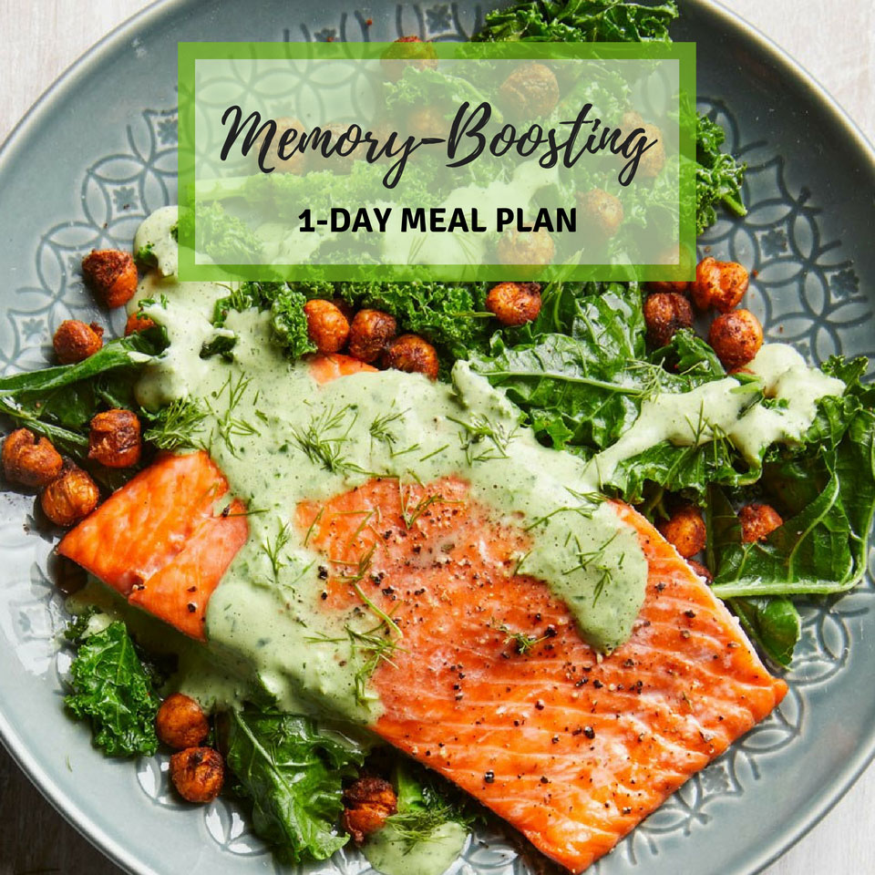 Memory-boosting Meal Plan