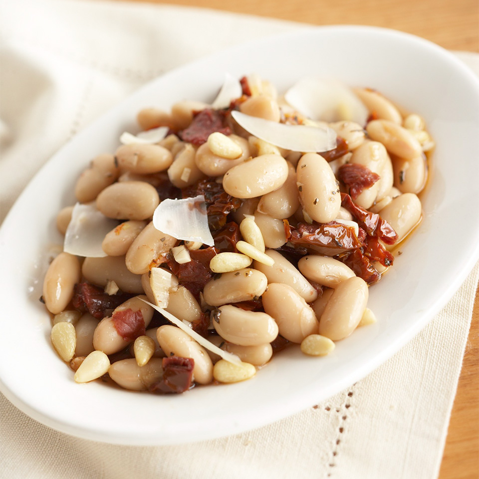 White Beans with Dried Tomatoes