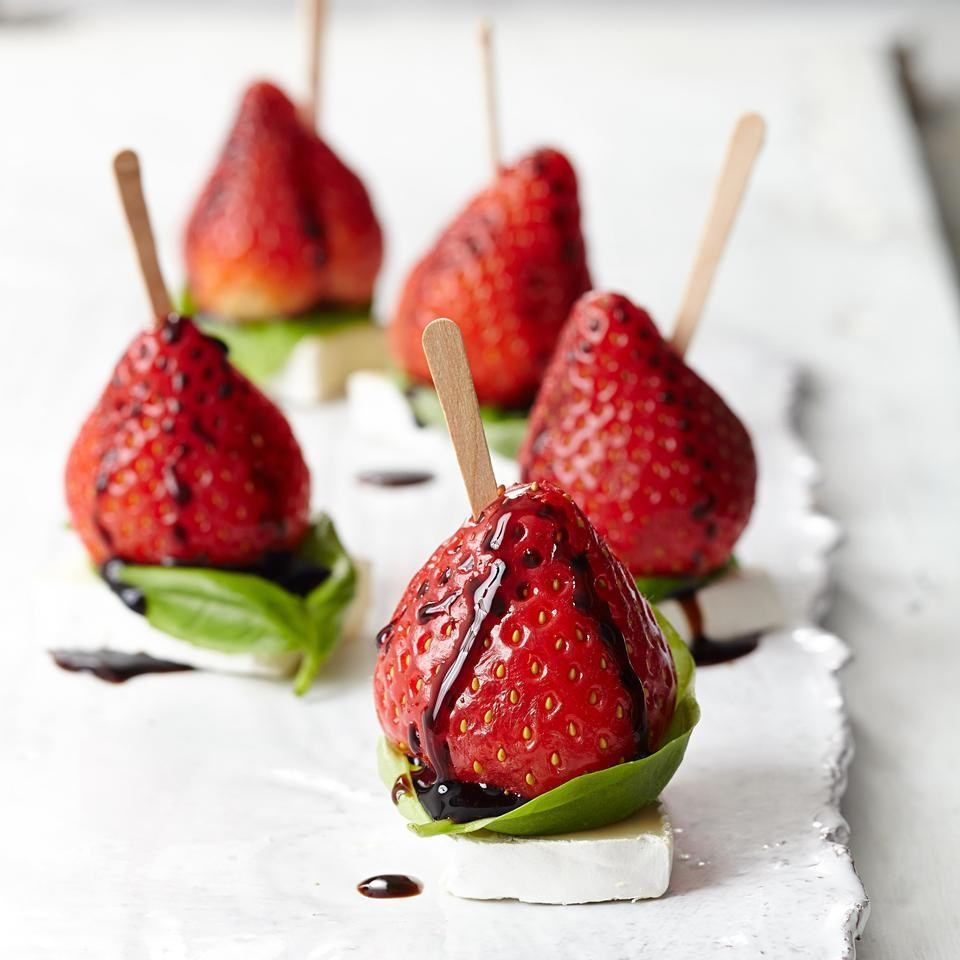 Strawberry & Brie Bites